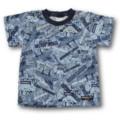 Handmade Boys Cotton Print T-Shirt - FREE POST