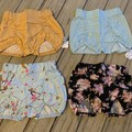 Bundle sale - girl pucker shorts sz 0 PourBebe