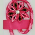 Kanzashi Flower Bookmarks