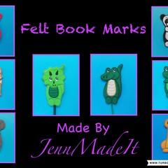 Kids Animal Bookmark