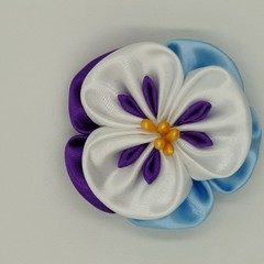Kanzashi Flower Magnets