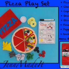 Pretend Play Pizza Set