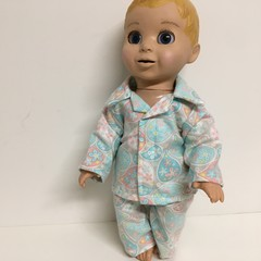 Dolls Pajamas to fit Luvabella Dolls