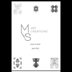 april 2020 colouring book (digital)