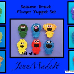 Finger puppet Sesame Street