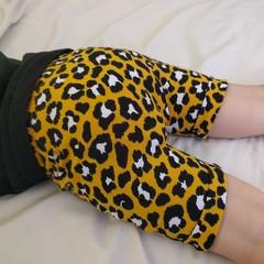 Australian Handmade Shorts (Yellow Leopard)
