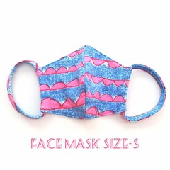 Fabric Face Masks -S  / FREE SHIPPING / Reusable / Washable / Adult's / Kid's /