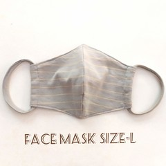 Fabric Face Masks -L  / Reusable / Washable / Adult's / Woman / Men /