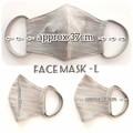 Fabric Face Masks -L  / Reusable / Washable / Adult's / Woman / Men /