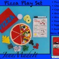 Pretend Play Pizza Set