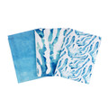 100% Cotton Towel, Set of 3, Hand Designed Coastal Art, Australian inspired, Dis