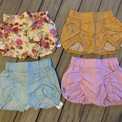 Bundle sale - girl pucker shorts sz 0 PourBebe