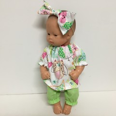 Miniland Dolls Bloomers  and Top to fit 32cm Dolls