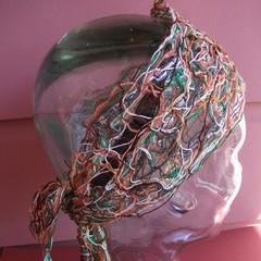 Kennedy - floating fibre headwrap