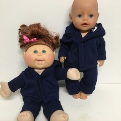 Dolls Tracksuit  to fit Baby Born, Cabbage Patch dolls