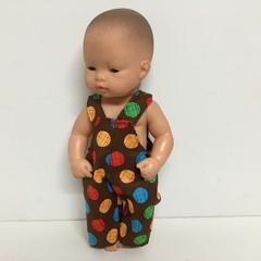 Miniland Dolls Overalls to fit 3cm dolls