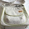 canvas shoulder bag with adjustable strap
