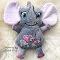 Personalised Elephant Plushie
