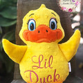 Personalised Duck Plushie