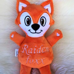 Personalised Fox Plushie
