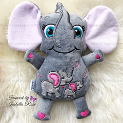 Personalised Elephant Plushie