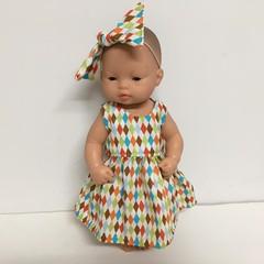 Miniland Dolls Dress to fit 32cm Dolls