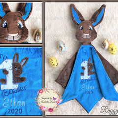 Peter Rabbit 'Ruggybud' - personalised, comforter, keepsake, lovey.
