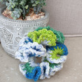 Crochet scrunchies - Full Size -  Patchwork Princess
