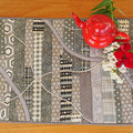 Table runner,  original design, reversible