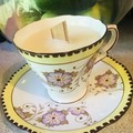 Vintage Royal Stafford Teacup Scented Soy Candle