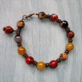 Fat Cat Originals Agate and Hematite Bracelet