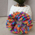 Crochet scrunchies - Full Size - Multicolour Mayhem