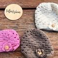 Crochet  Baby Beanies