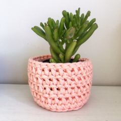 Crochet planter | Pen holder | Desk accessories | Makeup | PATEL PEACH