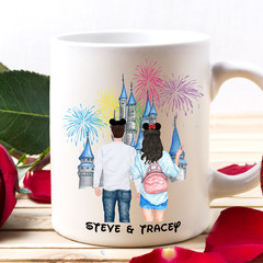 Personalised Couple Mug, Boyfriend and Girlfriend Mug, Couple Gift, BFF Gift,