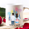 Personalised Couple Mug, Boyfriend and Girlfriend Mug, Couple Gift, BFF Gift,