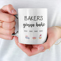 Bakers Gonna Bake Ceramic Personalised Coffee Tea Mug - CM030