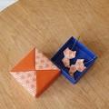 Origami Kitten Earrings