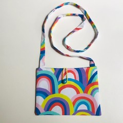 Rainbows cross-body bag