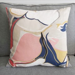 Cushion cover- abstract print