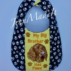 Dog Breed Baby Bib