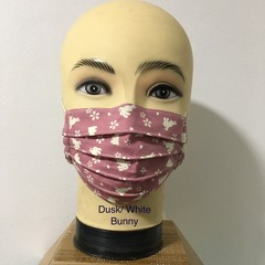 Fashion & Reusable  Side Pleat face Mask