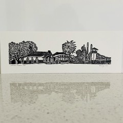 Mini Lord Somers Camp Panorama - Edition of 100 - Linoprint