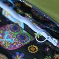 canvas crossbody  bag with flap, saddle bag