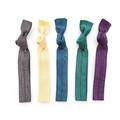 The Lady Boss Hair Tie Package - 5 Dark Tone Color Hair Ties- Elastic Bracelets
