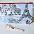 Highlights of Paris toiletries bag