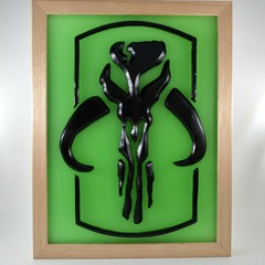 Star Wars Boba Fett's Mythosaur Skull Limited Edition Wax Painting Light Box