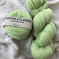 'Granny Smith' 5ply hand dyed superfine merino yarn