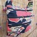 Nanami Sensu Red - Japanese Sling Satchel