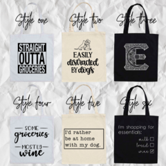 tote bag/ grocery bag/ custom tote bag/ shopping bag
